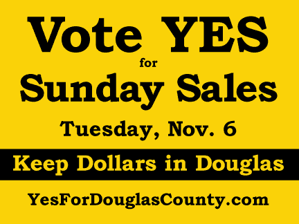 Yes for Douglas County Sunday Sales